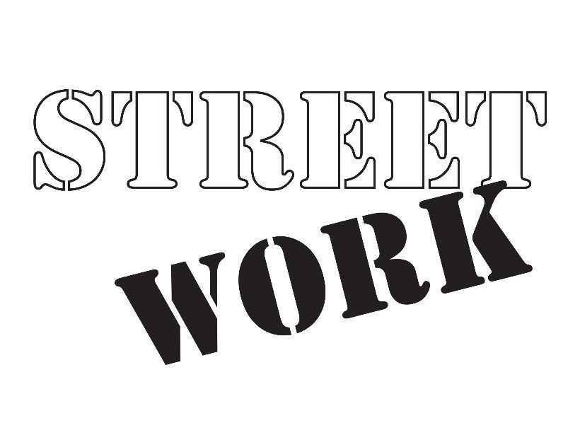 Text graphic that says Street Work.